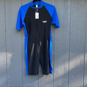 Yobel One Piece Body Skin Suit Cycling Swimsuit